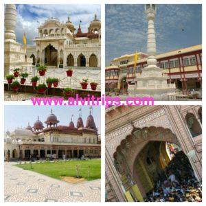 श्री महावीरजी धाम राजस्थान के सुंदर दृश्य